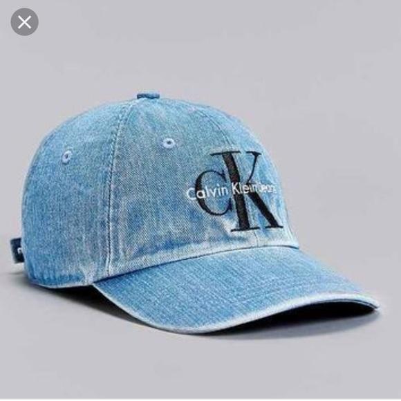 Calvin Klein Jeans Denim Dad Cap Hat. M 5c6889a312cd4ae61184032c 15f88c46d5a